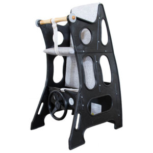 Black Ash Grey Hokus pokus high chair