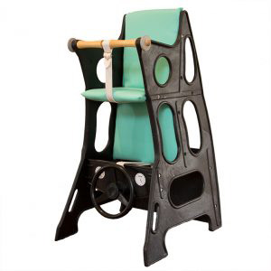 Black Mint Green Hokus Pokus Highchair